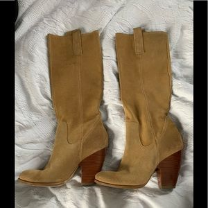 Naturalizer raw suede boots